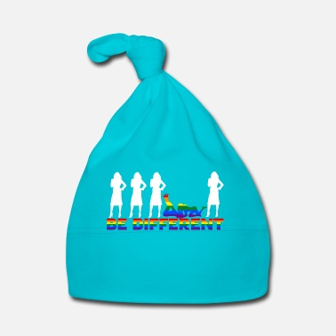 Orgoglio Gay Pride - Frauen - Be different - Cappellino neonato