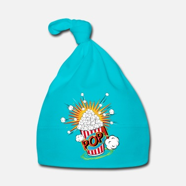 Culte Pop-corn dans un style pop art - Bonnet Bébé