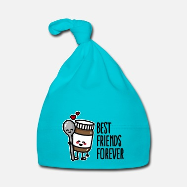 Affamato Best friends forever chocolate spread / spoon BFF - Cappellino neonato