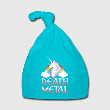 Death Metal - magical rainbow unicorn - Bonnet Bébé