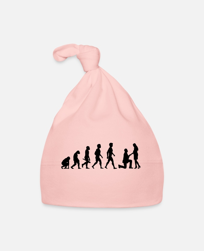 Engagement Baby Caps - couple kiss love relationship engagement wedding12 - Baby Cap pink