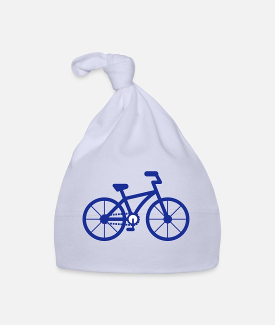 Wheel Baby Caps - Bicycle City City Bike Bike Eco Icon Eco - Baby Cap sky