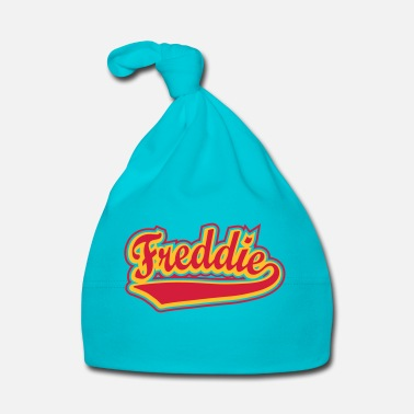 Personalise Freddie - T-shirt Personalised with your name - Baby Cap