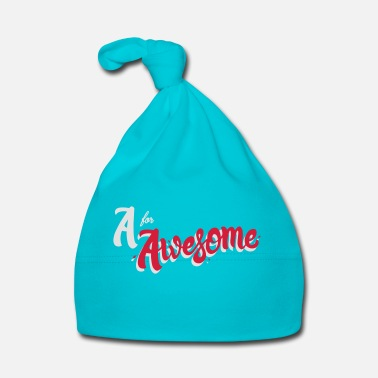 Awesome A for Awesome - Baby Cap