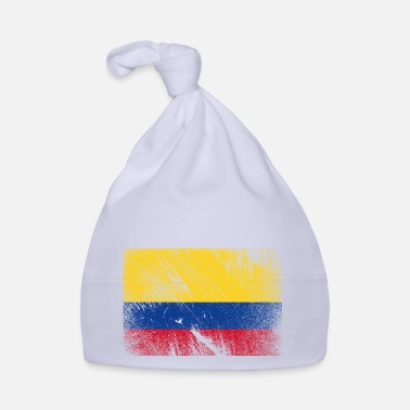 Patriot Colombia flag - vintage grunge - Babyhue