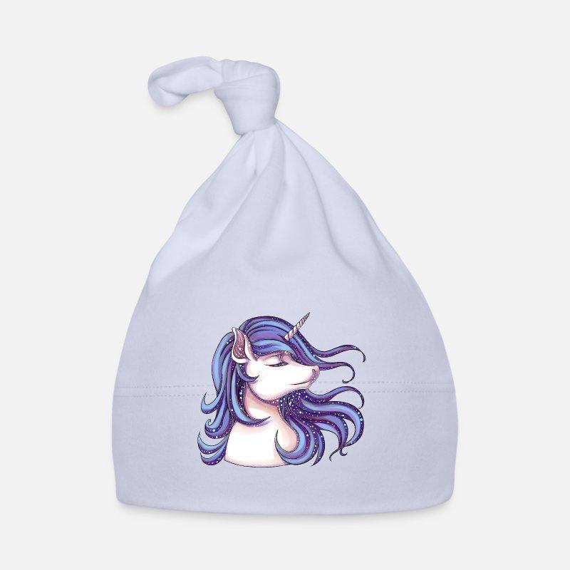 Licorne avec paillettes Bonnet Bébé   Spreadshirt 93219648f6f