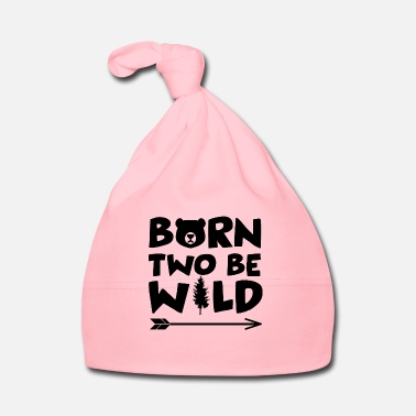 Born Two Be Wild - 2 Birthatg - Bonnet Bébé