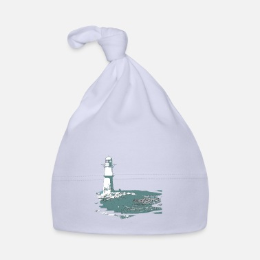 Baltic Sea Lighthouse, sea, beach, coast, design, gift, cool, - Baby Cap