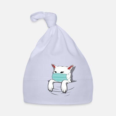 Smudge Smudge The Cat is Doing Quarantine Pocket Version - Baby Cap