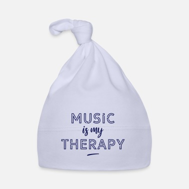 Pattern Music is my therapy - Baby Cap