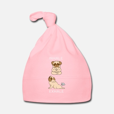 French Bulldog INHALE EXHALE Yoga - Baby Cap