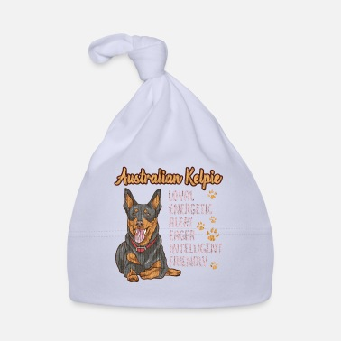 Australian Koolpie Cute Australian Kelpie Loyal & Friendly Dog - Baby Cap