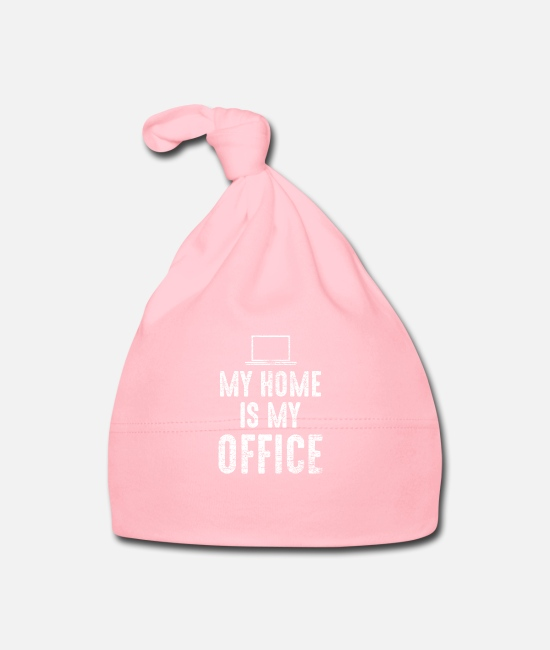 Office Baby Caps - Home office - Baby Cap light pink