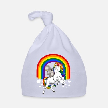 Tv LGBT Koala Bear Riding Unicorn Gay Pride Rainbow - Babyhue