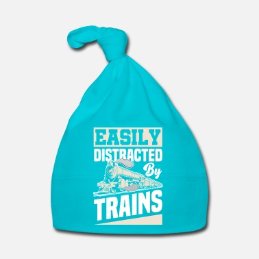 Training Train train lover trains train driver train driver - Baby Cap