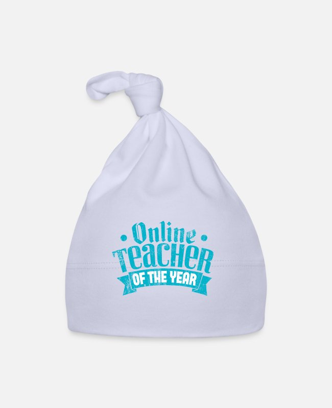 Online Lessons Baby Caps - Online teacher of the year - Baby Cap sky