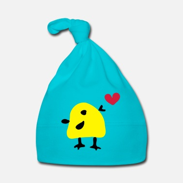 Animal Underwear Cute yellow bird - Baby Cap