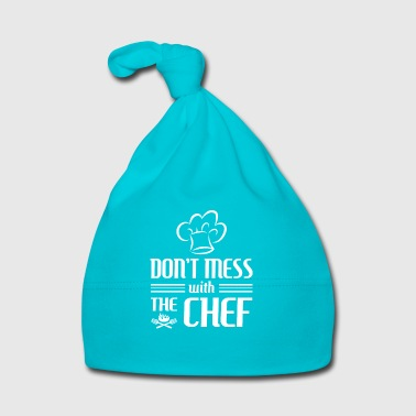 Don't mess with the Chef - cooking gift - Baby Cap