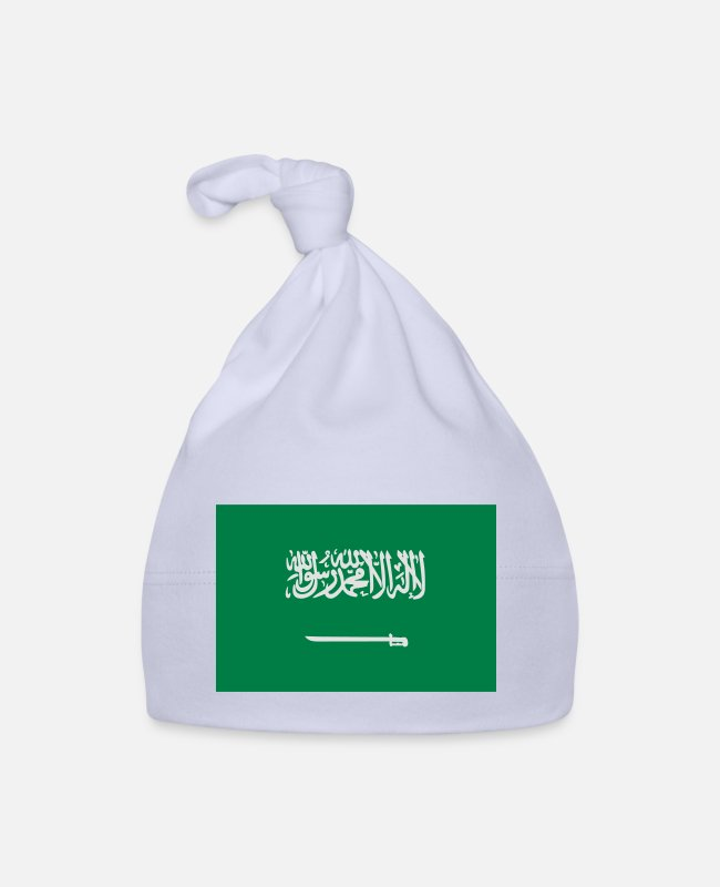 Saudi Arabia Baby Caps - National Flag Of Saudi Arabia - Baby Cap sky
