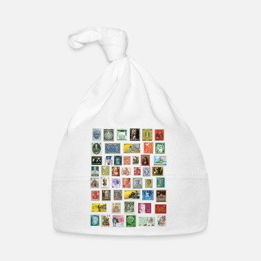 Postage Design of postage stamps - Baby Cap