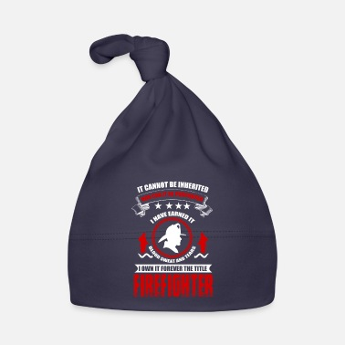 Firebrigade Firefighters firebrigade fire defense defender new ho - Baby Cap