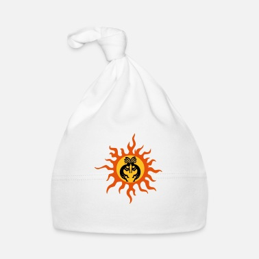 Fertilization kokopelli sun fertility magic - Baby Cap