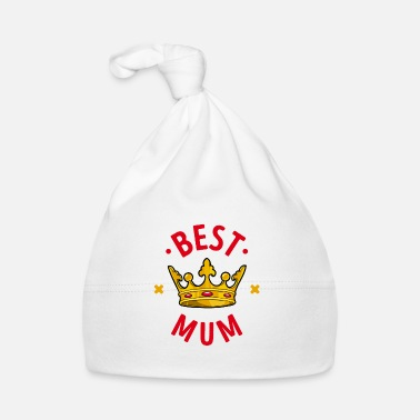 Congratulations Best mom mother favorite mom mother day crown - Baby Cap