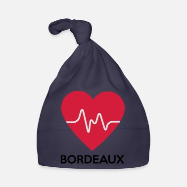 Bordeaux heart Bordeaux - Baby Cap