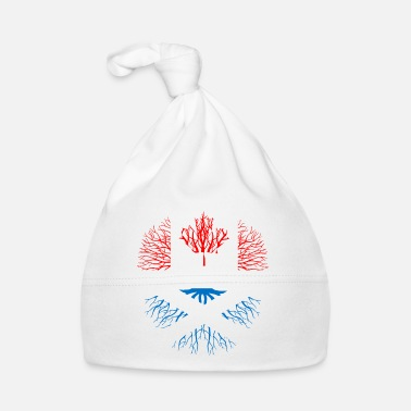 Erfenis Canada Gift Maple Flag Vancouver trotse erfenis - Baby muts