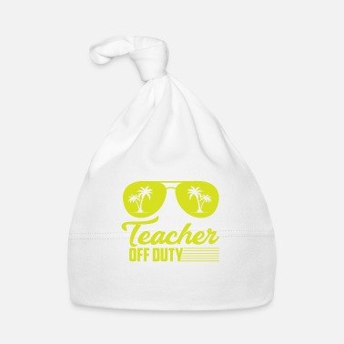 Officialbrands Teacher Off Duty T-Shirt - Babymütze