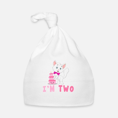 Juni I am two kawaii cat 2 years old - Baby Cap