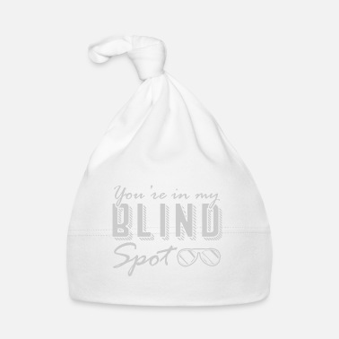 Smudge Blind spot blind person blindness white cane - Baby Cap