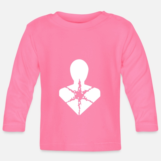 Symbol  Baby Clothes - Pictogram health hazard vector - Baby Longsleeve Shirt azalea