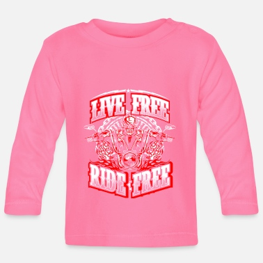 Chopper Life Free - Ride Free - Biker - T-shirt