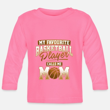 My Favourite Basketball Player - Maglietta a manica lunga per bambini