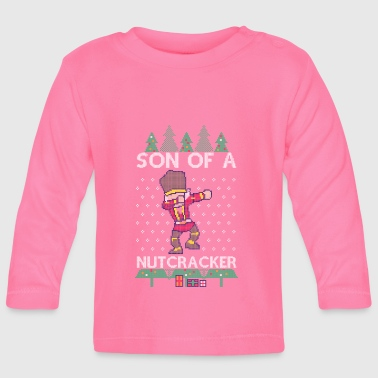 Winter Dabbing Son of a Nutcracker Ugly Christmas Sweater - T-shirt