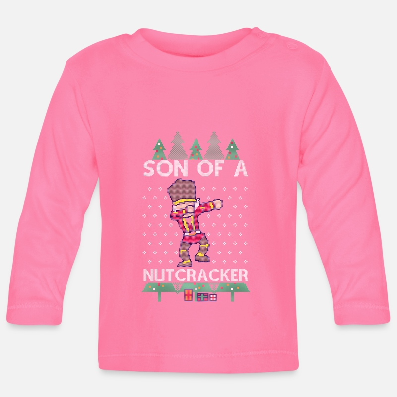 Dabbing Son Of A Nutcracker Ugly Christmas Sweater T Shirt Manches