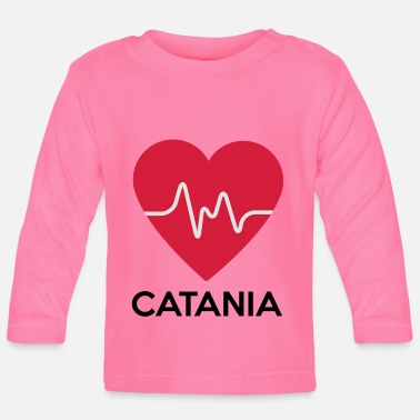Catania heart Catania - Baby Longsleeve Shirt