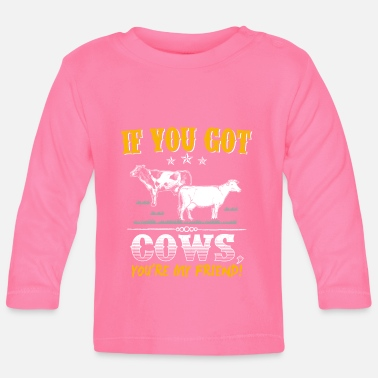 Koe Cow Animal Cows Farm Gift · Mijn vriend - T-shirt