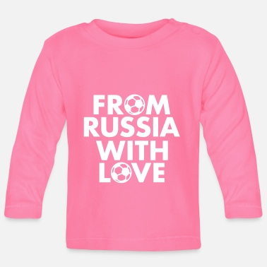 From Russia with love - Langarmet baby-T-skjorte