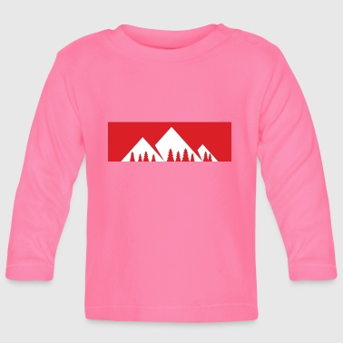 The mountain is calling - mountain, mountains - Baby Long Sleeve T-Shirt