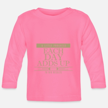 Muscle muscles - Baby Long Sleeve T-Shirt