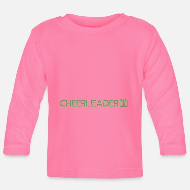 Person Schule Cheerleader - Baby Langarmshirt