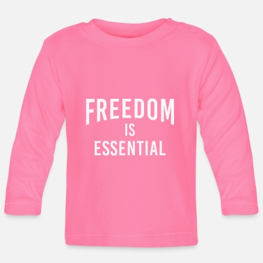 Exercise Freedom is Essential! - Baby Longsleeve Shirt