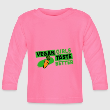Taste Veganistisch - Vegan Girls Taste Better (Carrot) - T-shirt