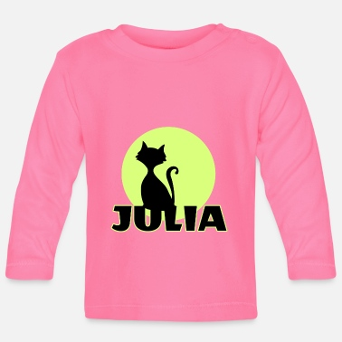 Name Day Julia Name day first name personal gift - Baby Longsleeve Shirt