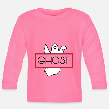 Ghost Ghost Halloween ghost ghost - Baby Long Sleeve T-Shirt