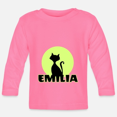 Name Day Emilia Name day first name personal gift - Baby Longsleeve Shirt