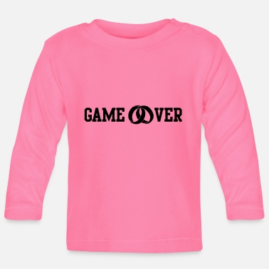 Game Over game over - Långärmad baby T-shirt
