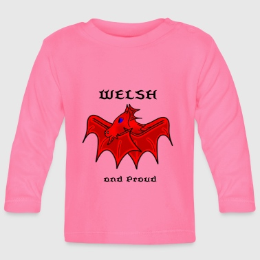welsh cute dragon - Baby Long Sleeve T-Shirt